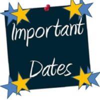 2017-2018 School dates